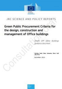 EU releases Draft Guidance on Green Public procurement