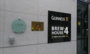 Tour of New Guinness Brewhouse