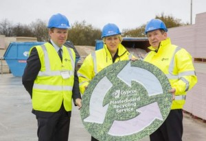 Launch of Gyproc Plasterboard Recycling Service