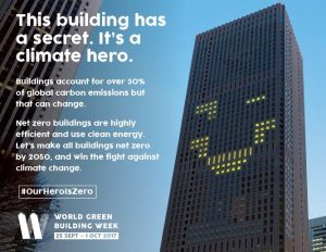 World Green Building Week 2017 – #OurHeroIsZero