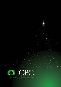 Merry Christmas from the Irish Green Building Council Team