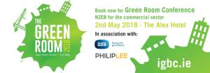 The Green Room 2018 – Session 2 NZEB Ready, Steady, Go!