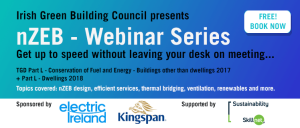 nearly Zero Energy Building (nZEB) webinar series launched