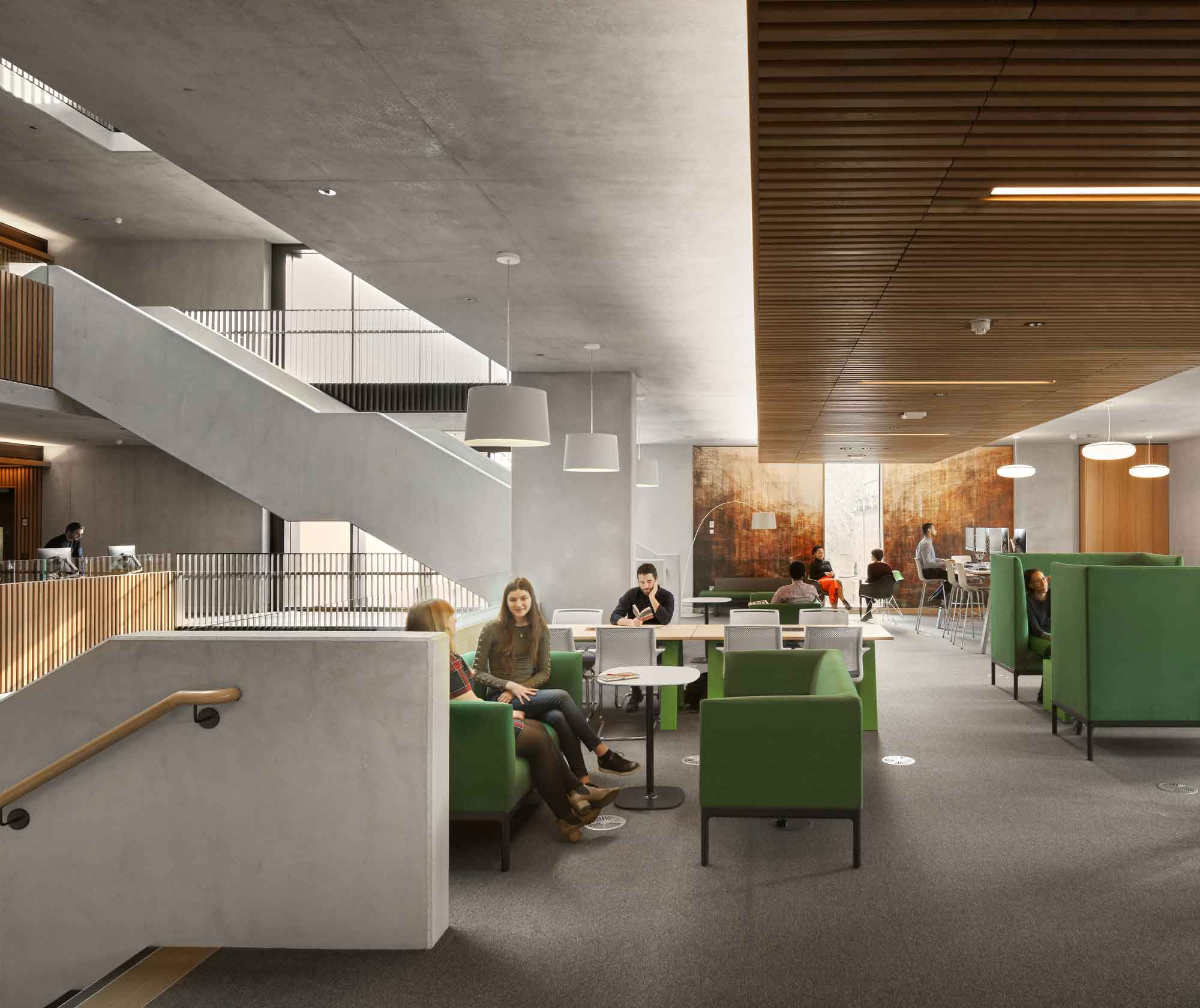 Case Study: UCL Student Services Building - Irish Green